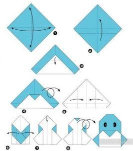 Pinguïn Origami
