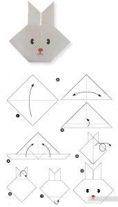 Origami Konijn